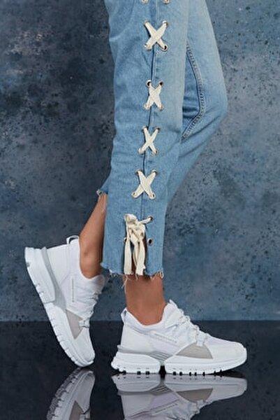 Full Beyaz Kadın Sneaker