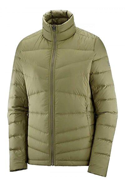 Salomon Lc1389700 Transition Down Jacket W Yeşil Kadın Mont