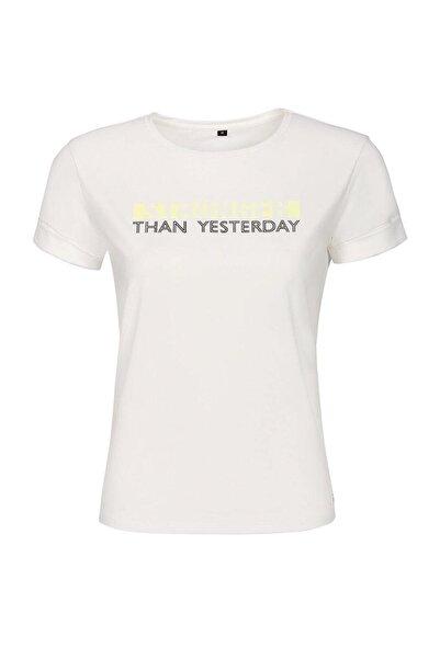 Kinetix DEBRA T-SHIRT Beyaz Kadın T-Shirt 100437874