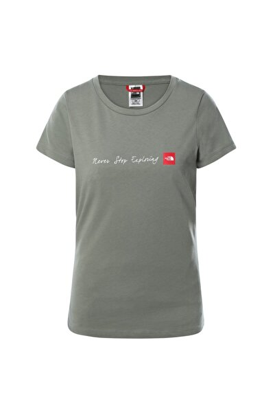 THE NORTH FACE W S/s Neverstopexploring Tee-eu Nf00a6prv381