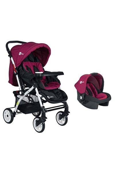 zepkids Mor Active Travel Sistem Çift Yönlü Bebek Arabası 4 Baby Ab-450