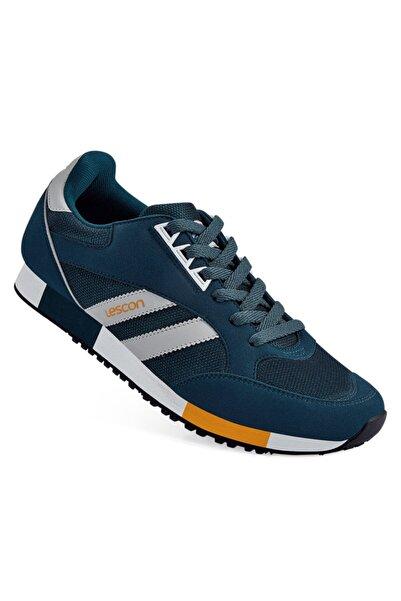 Lescon Unisex Mavi Bağcıklı Spor Ayakkabı