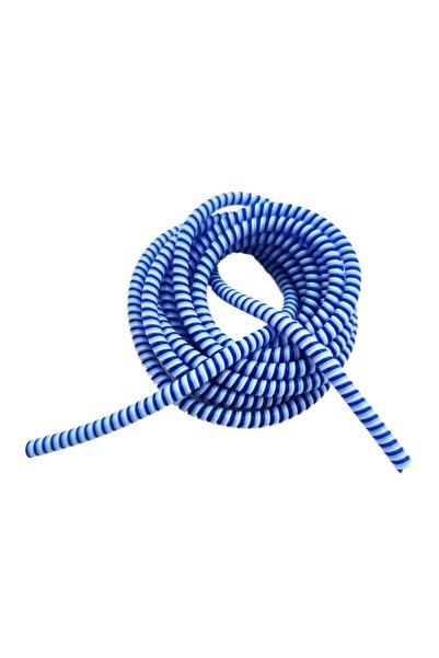 HONDEP Spiral Kablo Kordon Koruyucu Mavi Sarmal Koruma Şarj&Kulaklık Kaplama Kılıf Düzenleyici Aksesuar