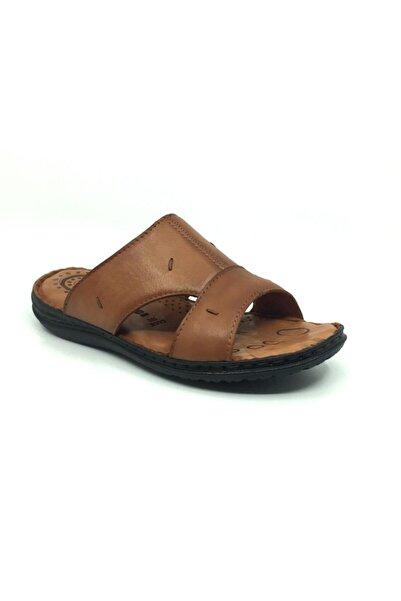 Taşpınar Erdem %100 Deri Ortopedik Erkek Terlik-sandalet