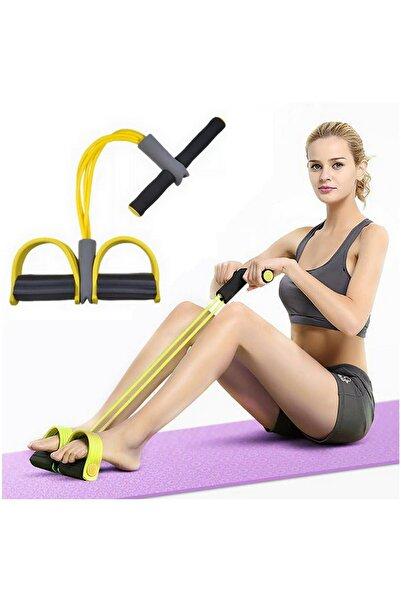 Neler Geldi Neler Body Trimmer 4 Lastikli Egzersiz Aleti El Ayak Direnç Yayı Lastiği Spor Vücut Karın Kondisyon Lastik
