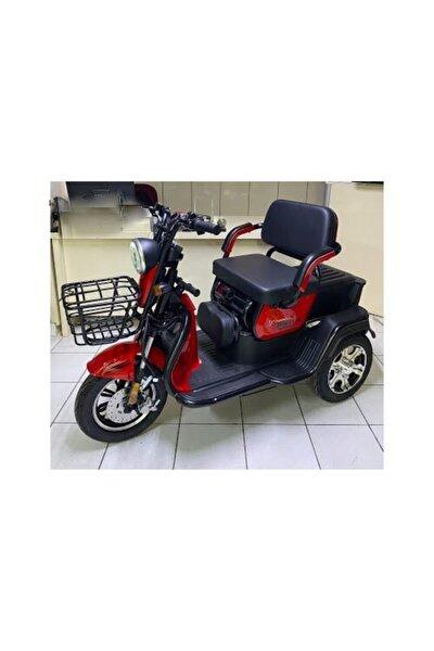 Falcon Frida 7000 Üç Tekerli Elektrikli Motosiklet Kırmızı