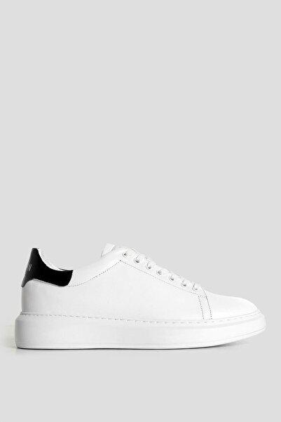 Lufian John Deri Casual Ayakkabı Beyaz
