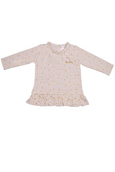 Pierre Cardin Kız Çocuk Pembe Fırfırlı T-shirt