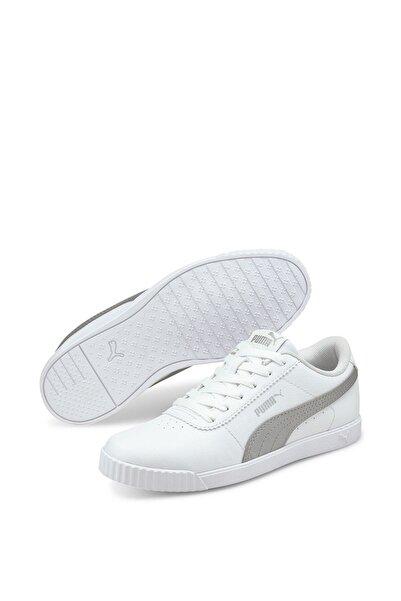 Puma CARINA SLIM SL Beyaz Kadın Sneaker Ayakkabı 101085457