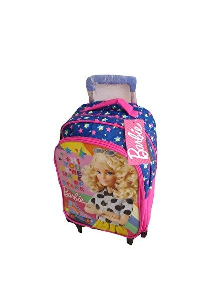 OTTONYA Frocx Barbie Lisanslı Iki Bölmeli Çek Çek Okul Sırt Çantası 5022