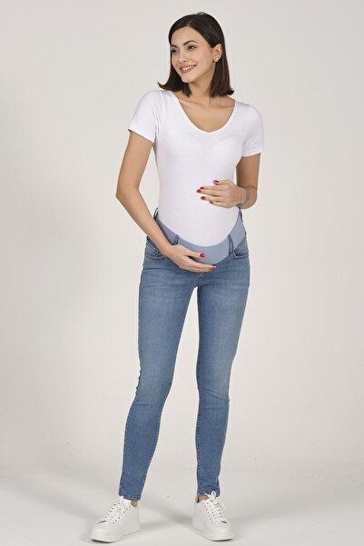 BUSA Kadın  Açık Mavi Hamile Skinny Jeans