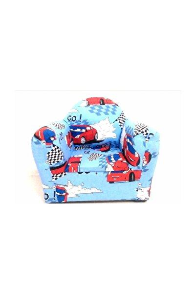 Sedef Erkek Çocuk Mavi Koltuğu Sandalye Mobilya Tekli Koltuk