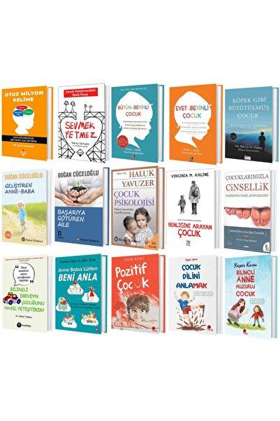Diyojen Yayıncılık Çocuk Gelişimi 15 Kitap Set ( Otuz Milyon Kelime – Sevmek Yetmez – Bütün Beyinli Çocuk + 12 Kitap )