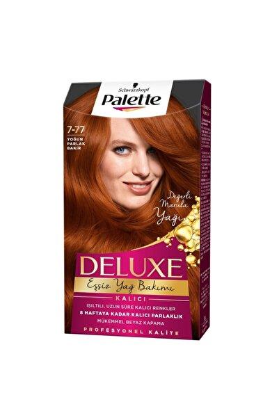 Palette Deluxe 7-77 Yoğun Parlak Bakır Saç Boyası