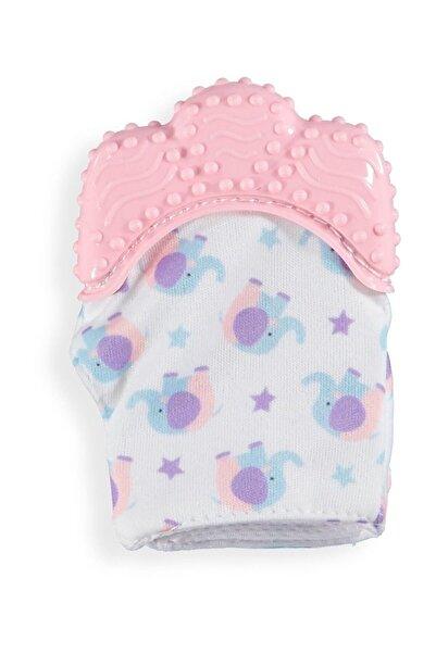 Baby&Toys Pembe Bebek Diş Kaşıma Eldiveni