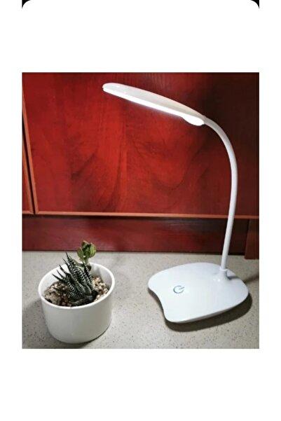 Wonderlust Şarjlı Dokunmatik Okuma Işığı 14 LED 3 Kademli Masa Lambası Beyaz