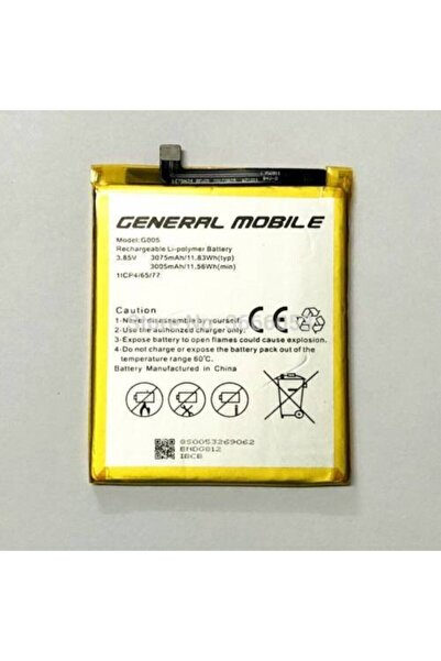 General Mobile Gm8 Batarya Orjinal Pil G005