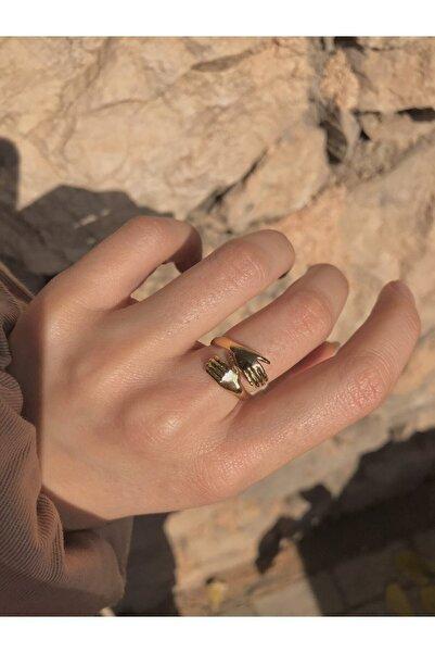Harlofia Jewelry Altın Kaplama Sevgi Yüzüğü