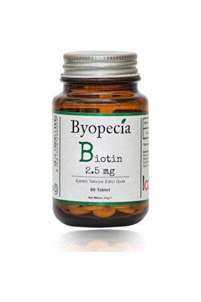 BYOPECIA Biotin 2.5mg 60 Tablet (saç Dökülmesi, Ve Tırnaklar Için)