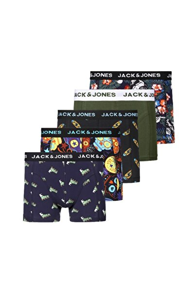Jack & Jones 5'li Boxer 12196513 Jacnıo