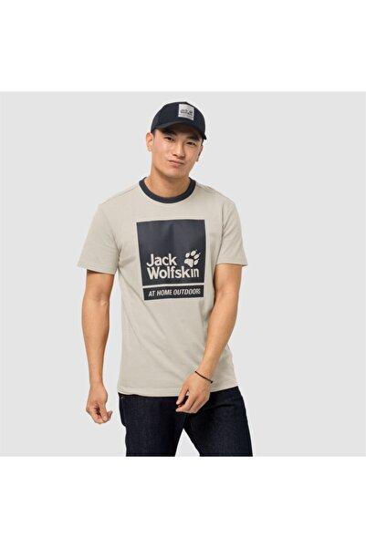 Jack Wolfskin Erkek Beyaz 365 Thunder T M Outdoor Tişört