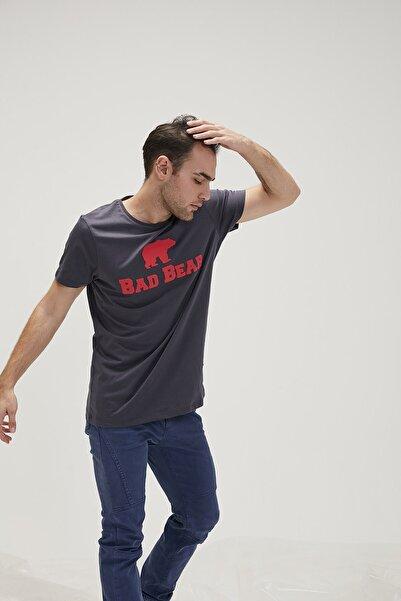 Bad Bear Erkek Antrasit Tişört Tee Os