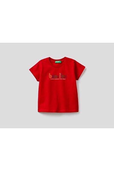 United Colors of Benetton 012 Benetton Yazılı Tshirt