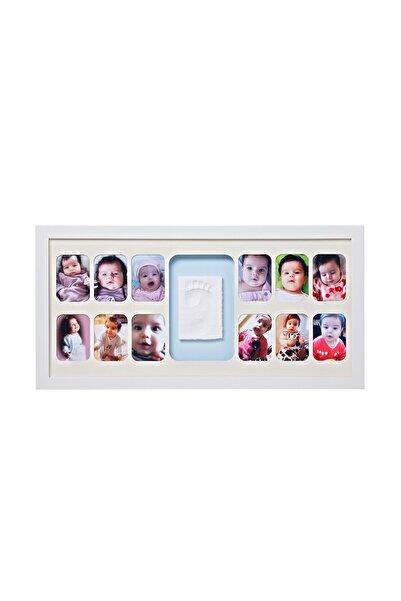 Baby Memory Prints 12 Aylık Çerçeve Beyaz /