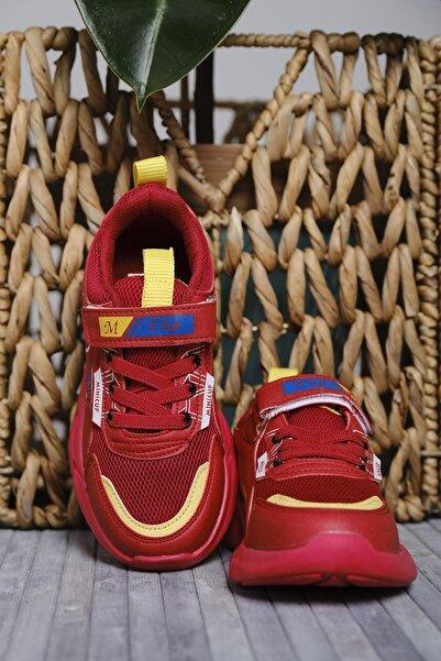 Oksit Mc Kassidy Çok Renkli Baskı Detaylı Fileli Kalın Taban Çocuk Sneaker