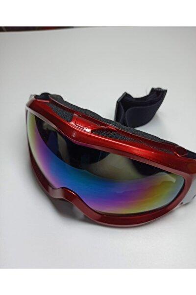 Pinklove Unisex Bordo Snowboard Gözlüğü