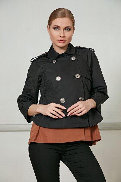 Icon Kadın Siyah Ceket 519 Kb