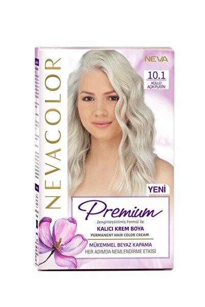 NEVA KOZMETİK Nevacolor Premium Kalıcı Krem Set Boya 10.1 Küllü Açık Platin