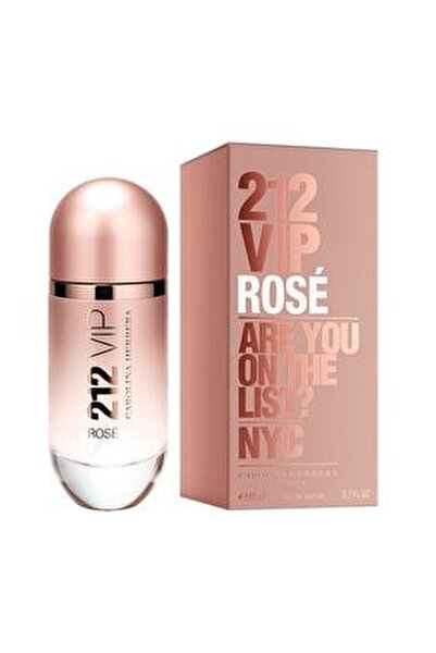 212 Vip Rose Edp 80 ml Kadın Parfümü 8411061777176