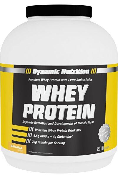 Dynamic Nutrition Protein Tozu 2000 gr Muz Aromalı