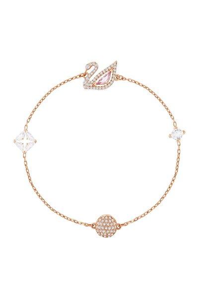 Swarovski Bilezik Dazzling Swan:bracelet Czmo/ros M 5472271