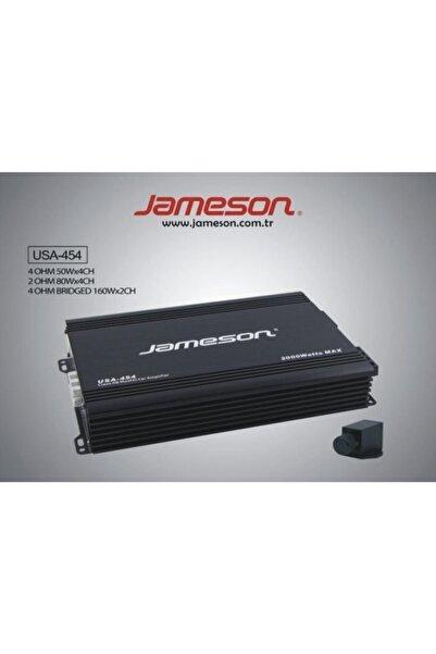 Jameson Usa-454 4 Kanal Bas Kontrollü 2000 Watt Oto Anfi