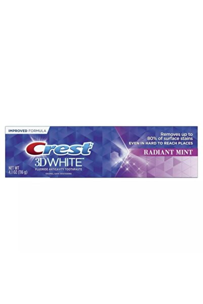 CREST 3d White 3 In 1 Whitening Radiant Mint Toothpaste- Diş Macunu 116 G