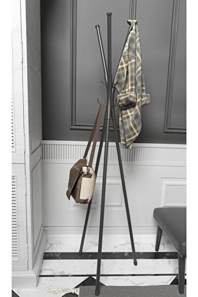 morpanda Metal Ayaklı Askılık Elbise Askısı Portmanto Askılık