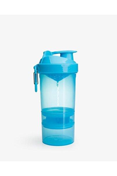 SMART SHAKE 3 Bölmeli Mavi Shaker 600 Ml