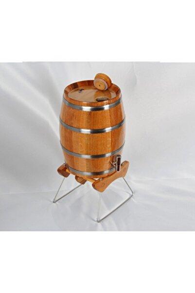 Masif Art Masifart Kızıl Meşe Dik Şarap Bira Fıçısı 4 lt
