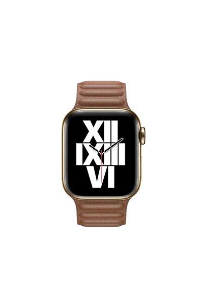 zore ???apple Watch 44mm Krd-34 Deri Kordon
