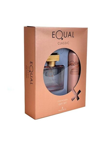 Equal Set Women Edt+deo 75ml Clasık