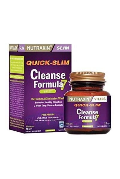 Nutraxin Quick Slim Cleanse Formula 7 Detox 14 Tablet