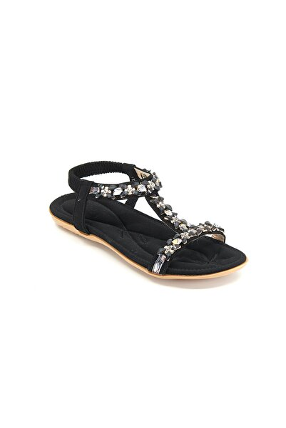 Guja Kadın  Siyah Sandalet 19y204-1