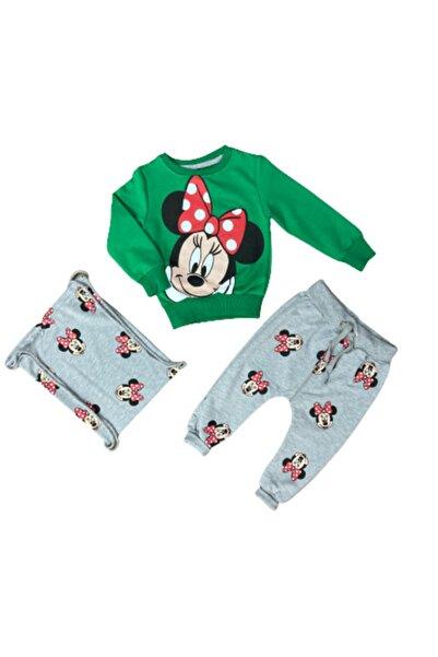 Disney Mickey Mouse Kız Çocuk Mickey Mouse Çantalı Takım