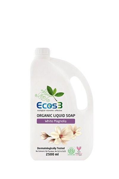 Ecos3 Beyaz Manolya Organik Sıvı Sabun 2500 ml