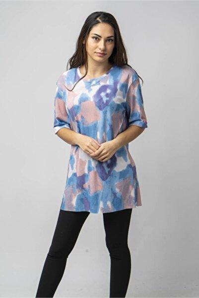 CNS Batik Desenli Salaş T-shirt