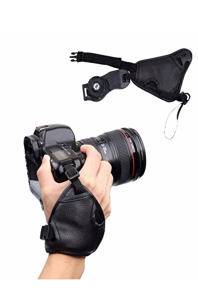 Deyatech Canon,nikon,pentax Dslr Uyumlu El Askısı Hand Grip Hand Strap