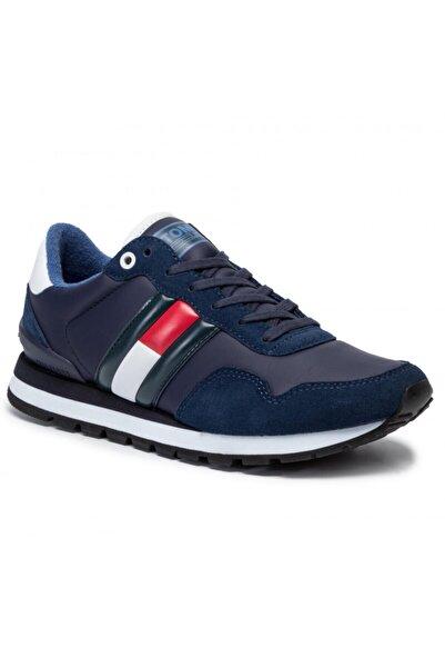Tommy Hilfiger Erkek Lacivert Lifestyle Sneaker