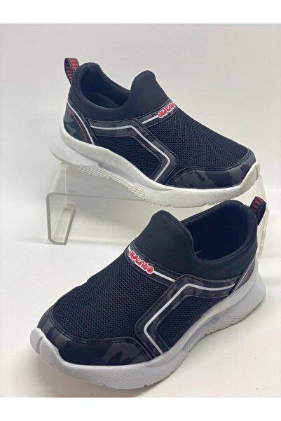 Arvento Unisex Çocuk Siyah Spor Ayakkabı